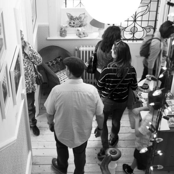 Artists at 3 Fiveways by Martina Bellotto