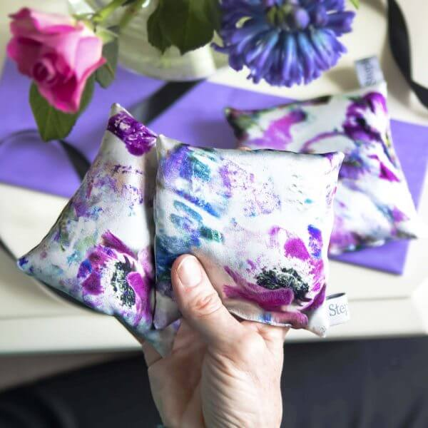 StephieAnn Anemone Lavender Bags